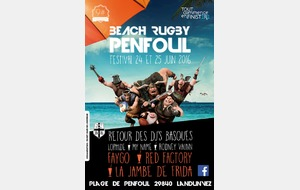 Beach Rugby Penfoul 2016