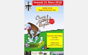 Chasse aux oeufs (31 mars 2018)